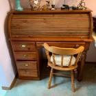Broyhill Roll-top Desk w/ Chair