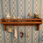 Wall Shelf & Contents