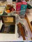 Knife Set, Flatware, George Foreman, Bowl
