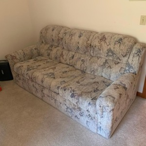Lazy Boy couch, hide abed, like new