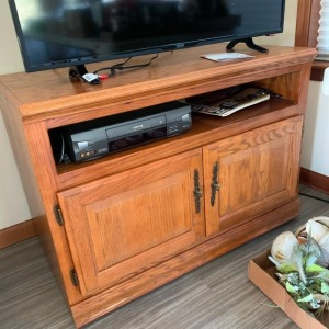Entertainment center and contents