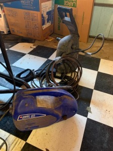 (2) Electric Power Washers