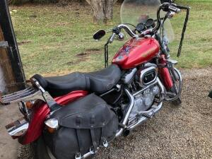1995 Harley Davidson Sportster 1200 Screamin' Eagle, 7k miles with extra accessories (with title)
