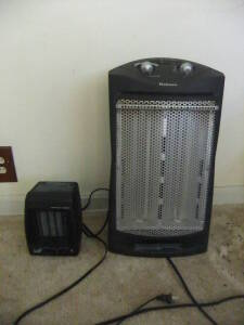 (2) Space Heaters