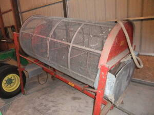 Sno-Co grain cleaner