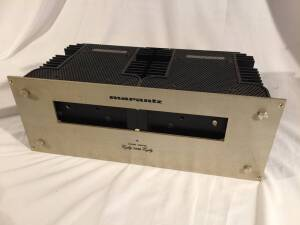 VINTAGE Marantz 16 Dual Channel Amplifier. One owner since 1969. Original Handbook of Instructions. Each channel is 80 watts RMS @ 8 ohms load. Good working condition.