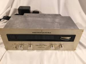 VINTAGE Marantz 20 FM Stereo Tuner. One owner since 1969. Original Handbook of Instructions. Original unopened shelf-mounting hardware and tools kit envelopes. Original mounting templates. Good working condition, including working oscilloscope.