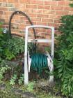 Garden Hose and Hose Cart