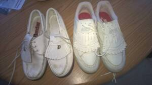 2 pairs Ladies Golf Shoes size 6½